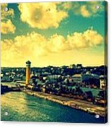 Nassau The Bahamas Acrylic Print