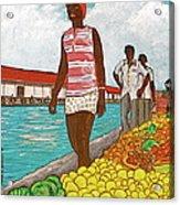 Nassau Woman Acrylic Print