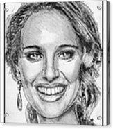 Natalie Portman In 2011 Acrylic Print