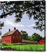 Nathan Hale Homestead Coventry Connecticut Acrylic Print