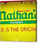 Nathan's Famous Acrylic Print