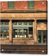 National Bank Of Thurmond Acrylic Print