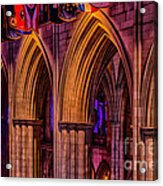 National Cathedral Arches Acrylic Print