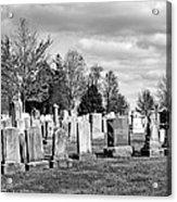 National Cemetery - Gettysburg Battlefield Acrylic Print