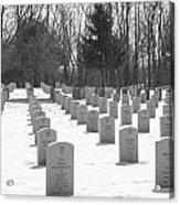 National Cemetery   # Acrylic Print