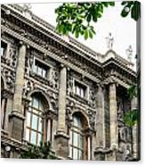 National Library In Vienna Austria Acrylic Print