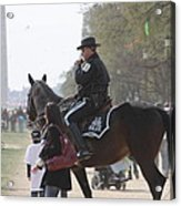 National Mall - Washington Dc - 01136 Acrylic Print