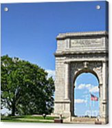 National Memorial Arch At Valley Forge Acrylic Print
