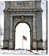 National Memorial Arch Acrylic Print by Olivier Le Queinec