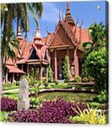 National Museum In Phnom Penh Acrylic Print