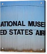 National Museum United States Air Force Acrylic Print