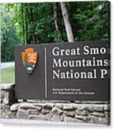 National Park Acrylic Print