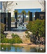 National Pow-mia Memorial Acrylic Print