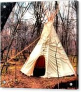 Native American Abode Acrylic Print