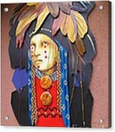 Native American Artwork Acrylic Print