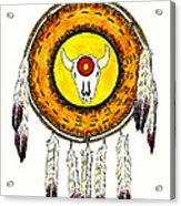 Native American Ceremonial Shield Number 2 Acrylic Print