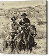 Native American Cowboys Acrylic Print