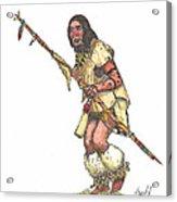 Native American Dancer Acrylic Print