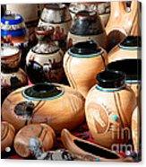 Native American Pottery Sale Acrylic Print