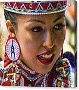 Native American Princess Acrylic Print