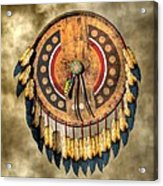 Native American Shield Acrylic Print