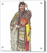 Native American Woman Acrylic Print