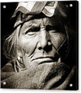 Native American Zuni -  Si Wa Wata Wa  Acrylic Print by Jennifer Rondinelli Reilly - Fine Art Photography
