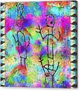 Native Legends II Acrylic Print