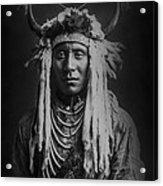 Native Man Circa 1900 Acrylic Print