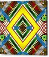 Native Weave Life Acrylic Print