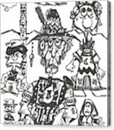 Natives Acrylic Print
