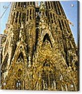Nativity Facade - Sagrada Familia Acrylic Print