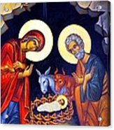 Nativity Feast Acrylic Print