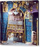 Nativity Grotto 1950 Acrylic Print