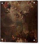 Nativity Of Mary Acrylic Print by Andrea Celesti