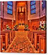 Nativity Of Our Lord Church Acrylic Print