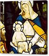 Nativity Acrylic Print by Robert Anning Bell