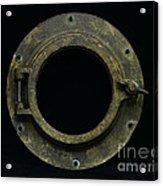 Natuical - Brass Porthole Acrylic Print
