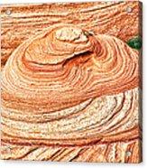 Natural Abstract Canyon De Chelly Acrylic Print