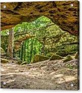 Natural Bridge Cave Acrylic Print