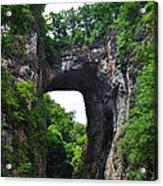Natural Bridge In Rockbridge County Virginia Acrylic Print