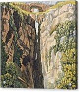 Natural Bridge, Valle Dicononzo Acrylic Print