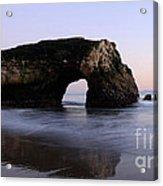Natural Bridges State Park California Acrylic Print