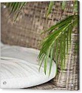 Natural Materials Furniture Detail Acrylic Print