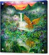 Natural Peace Acrylic Print