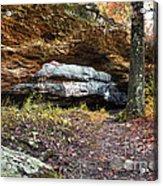 Natural Rock Bridge Acrylic Print