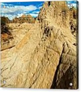 Natural Stone Pillar Acrylic Print