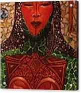 Natural Warrior Goddess Acrylic Print by Cynthia Hagenhoff