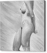 Natural Woman Acrylic Print