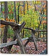 Natural Wood Acrylic Print